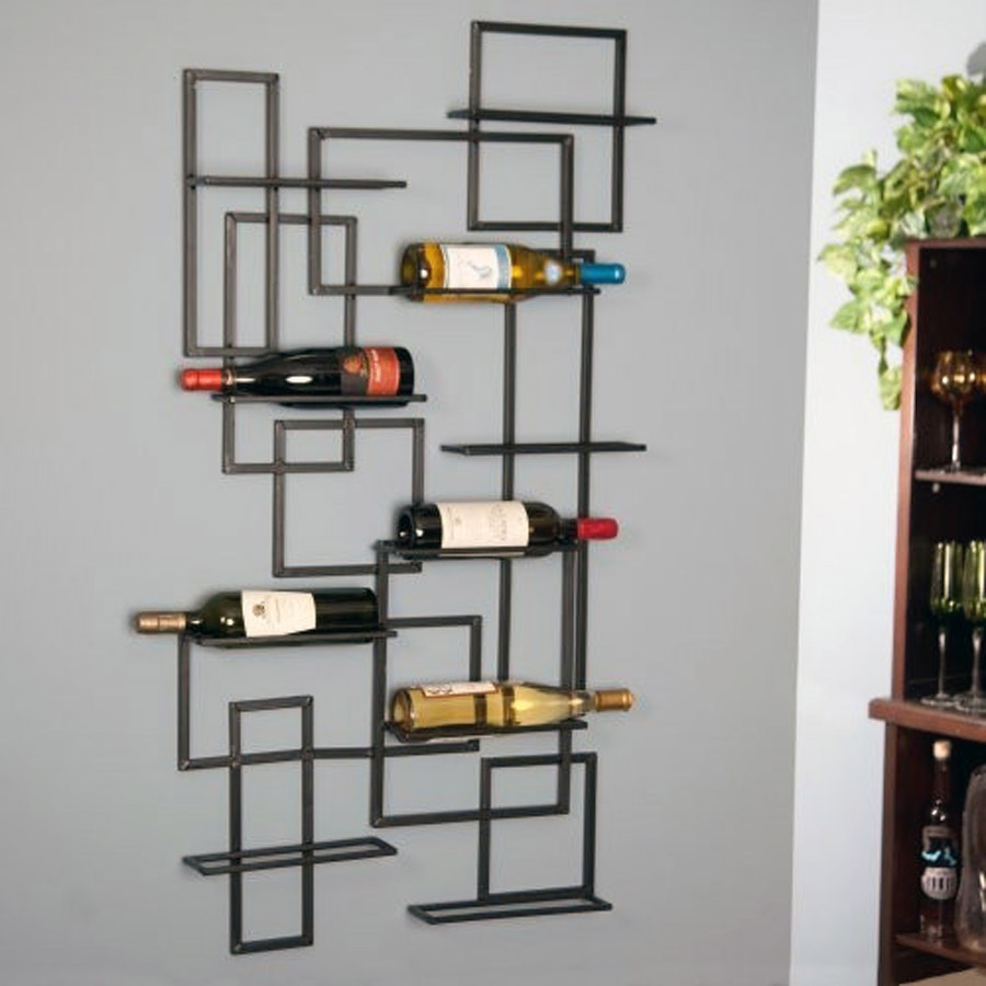 Wall Wine Racks Part - 21: [WALL MOUNT WINE RACK] ...