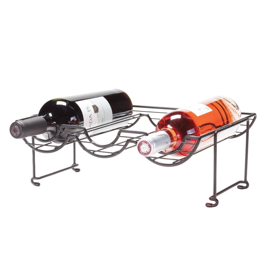 [STACKABLE WINE RACK VIEW]