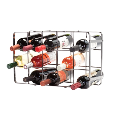 [WINE RACK METAL]
