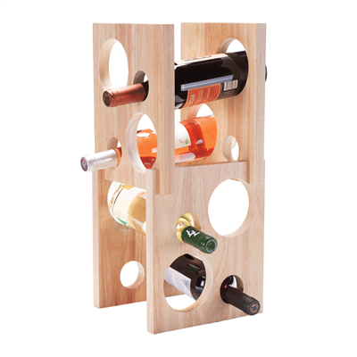 [8 BOTTLE WINE RACK