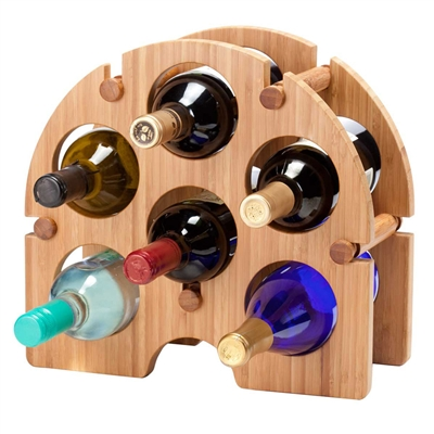 [BAMBOO WINE RACK