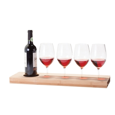[WINE GLASS SERVING TRAY LONG BOARD]