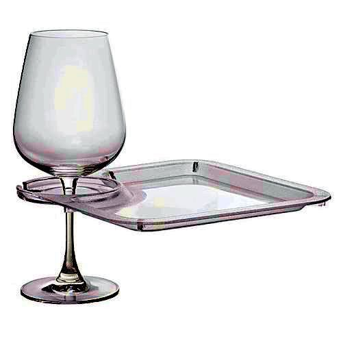 Wine Party Plates, Vino Plate Clip, Bamboo | Buy Artisans on Web