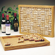 Attention cork collectors - Recycle your old corks with our unique Bulletin  Boards. Create your own personal design using your own cork collection in  the ...